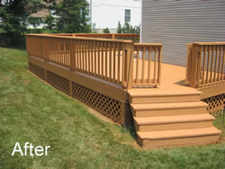 Stain and Seal Deck After