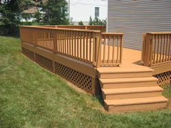 after deck refinished